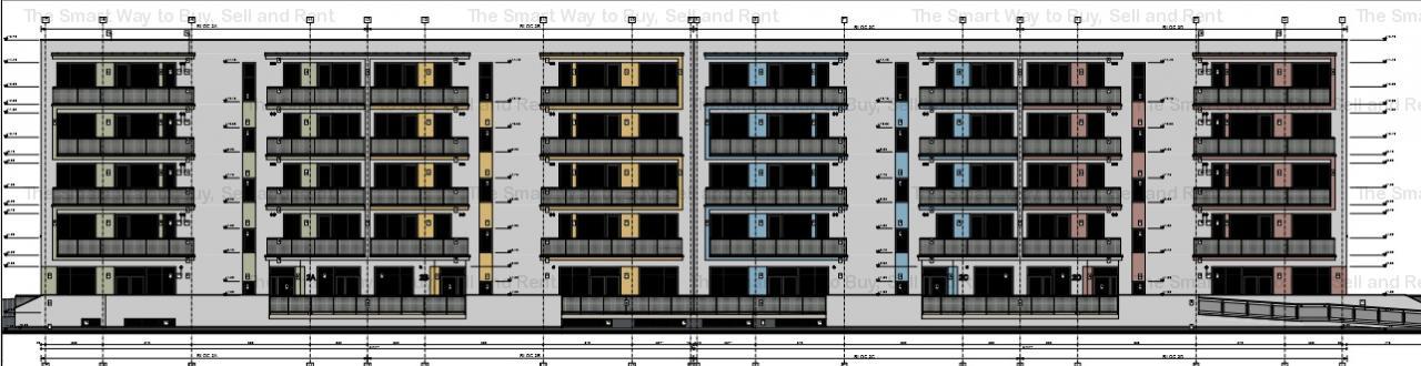 Apartament 1 camera  37 mp Borhanci