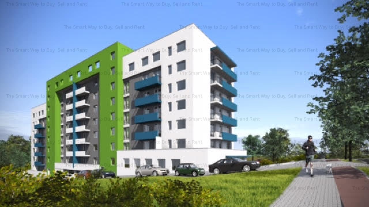 Vand apartament bloc nou