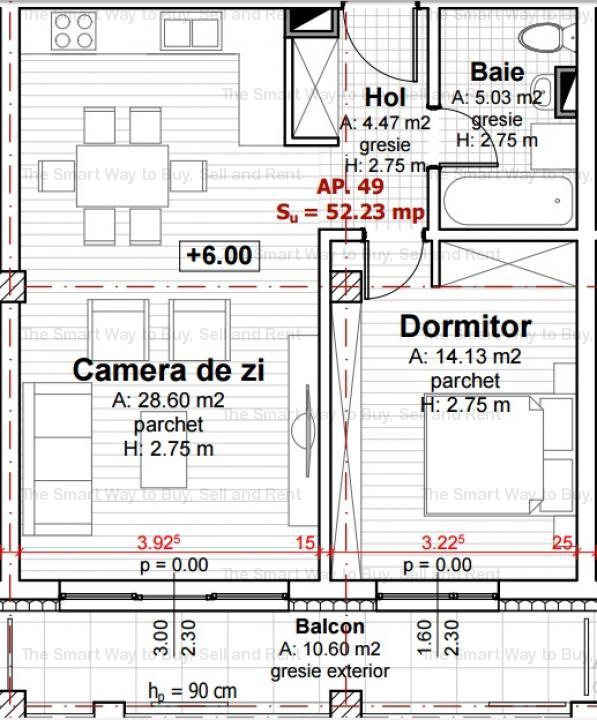 Vand apartament 2 camere bloc nou Zorilor