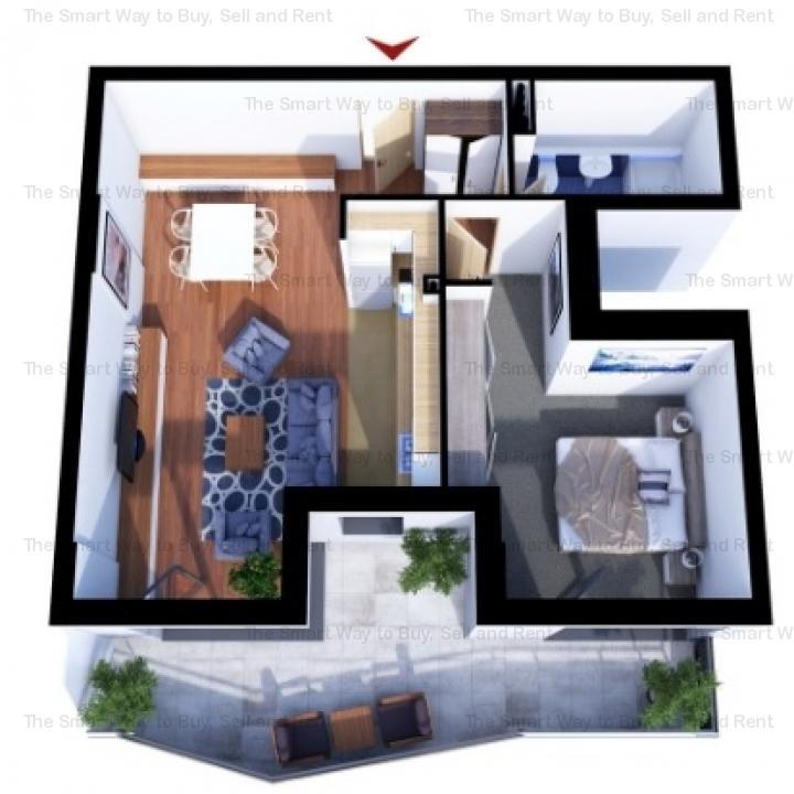 Apartament 2 camere, Sopor