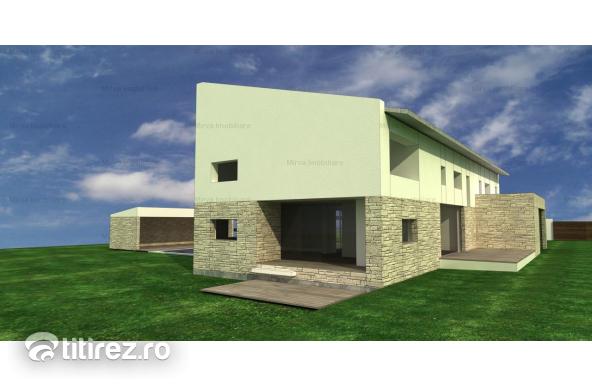 Vanzare teren intravilan, 5036 mp, cu proiect pentru casa, in Gageni