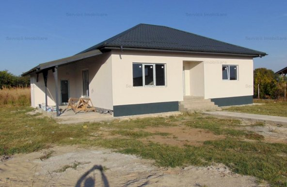 FARA COMISIOANE casa 3 camere 2 bai P+pod placa beton beci camera th