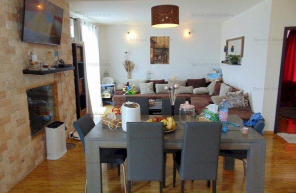 FARA COMISIOANE casa mobilata cu 5 camere semineu P+1 terasa beci