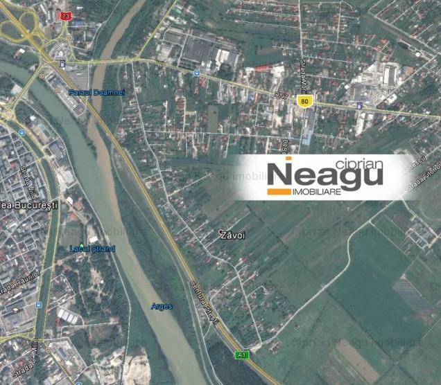 Neagu Imobiliare: De vanzare Teren Stefanesti, zona Zavoi