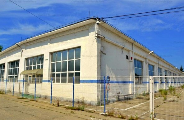 """Presate Dacia"" – Pitesti hala, anexe, teren – DE VANZARE"