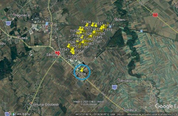 Titu Dambovita, DN7, Teren Industrial 131.800 mp