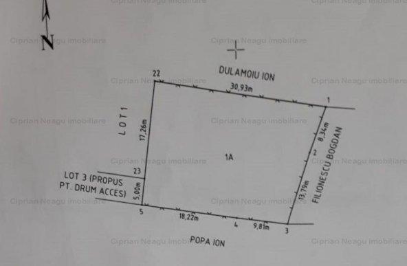 Comision 0% - De vanzare teren 650 mp Colibasi