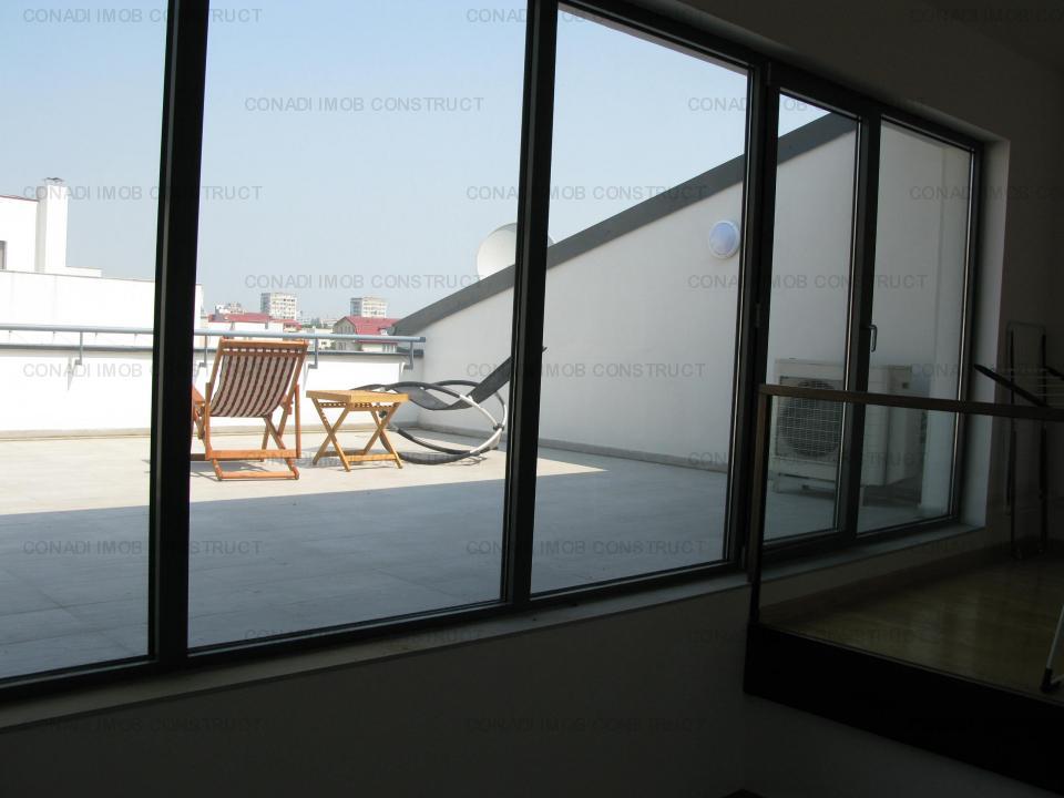 Penthouse de lux cu 4 camere si terasa - Piata Dorobanti