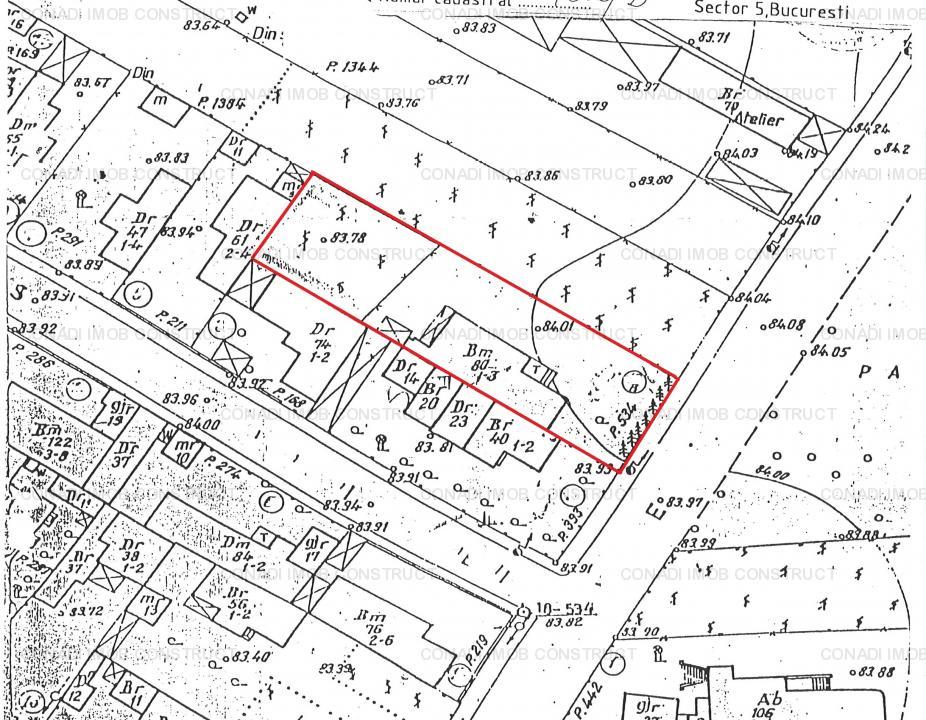 Casa demolabila pe 300mp teren Zona Cora Alexandriei