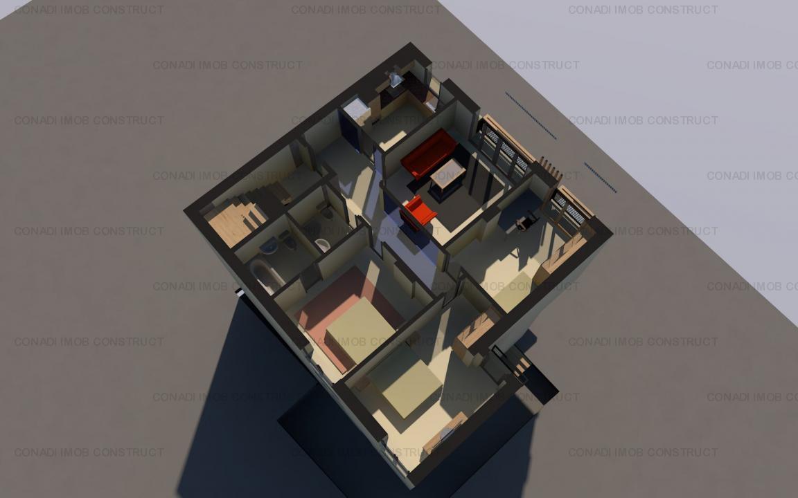 Apartamente 4 camere, imobil finalizat recent