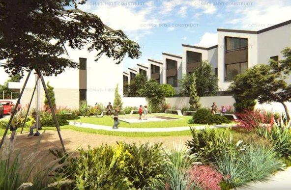 Vila tip Z1 cu 4 camere in complex rezidential de case insiruite zona Pipera - Scoala Americana