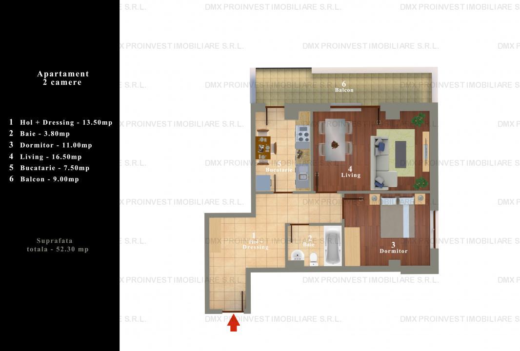 Apartament 2 camere, Drumul Taberei, Valea Oltului, Brancusi,
