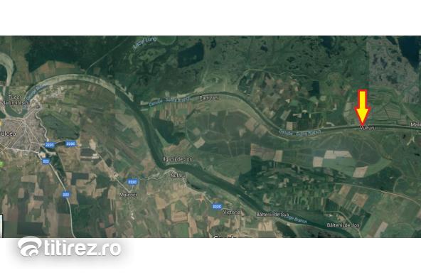 Teren intravilan 2ha  Delta Dunarii