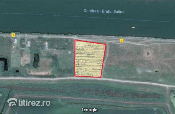 Teren intravilan investitie Delta Dunarii