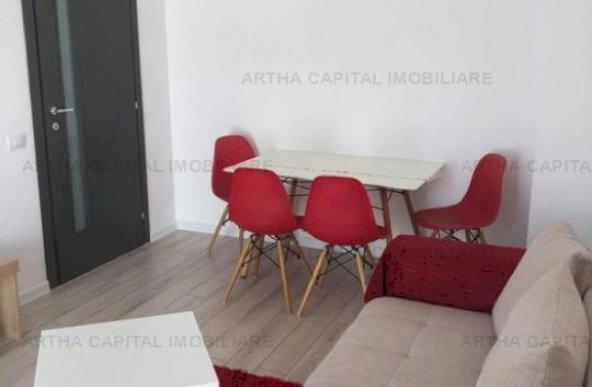 Apartament mobilat si utilat modern