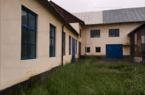 Spatiu industrial in comuna Budacu, sat Jelna, judet Bistrita Nasaud