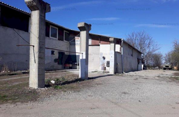 Spatiu idustrial cu multiple utilizari si teren in Santimbru, jud. Alba