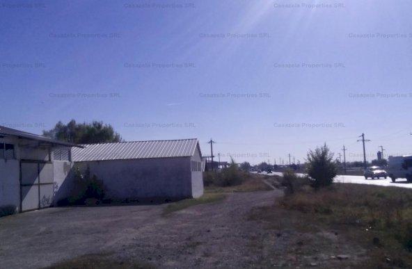 Spatiu industrial 600mp si teren 977mp Urziceni