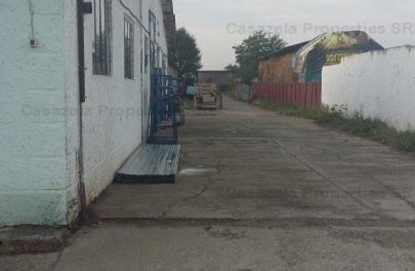 teren s=8993 mp si 2 hale industriale s=2665 mp situate in intravilan Gheraesti