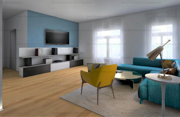 Apartament 2 camere lux in zona Pipera