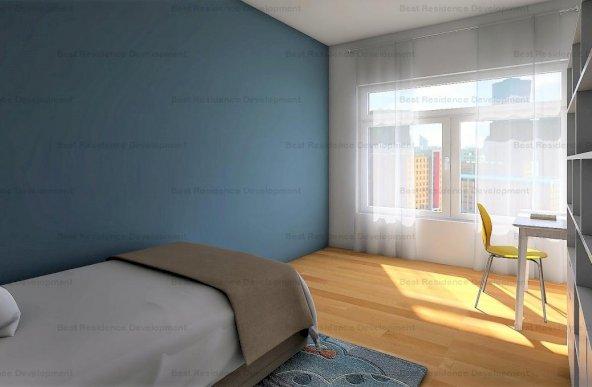 Apartament 3 camere, terasa de 100mp in zona Pipera