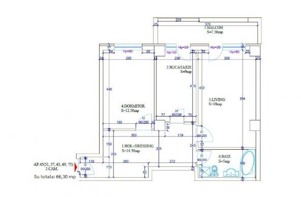Brancusi, dezvoltator bloc nou, 8 min. de metrou