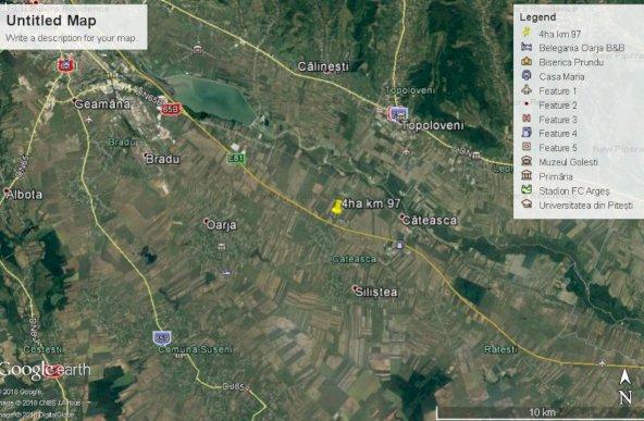 teren zona industriala, 44 000mp la Autostrada A1, km 97