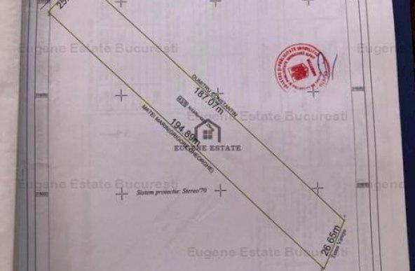 Teren intravilan comuna Cornetu, Ilfov, 4821mp