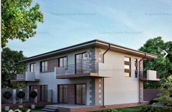 Vila tip duplex 154 mp , comuna Vidra