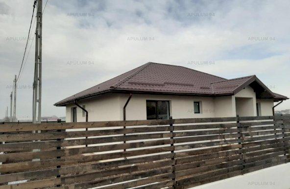 Casa pe parter in Clinceni, suprafata construita 131mp, teren 445mp, finisata la cheie.