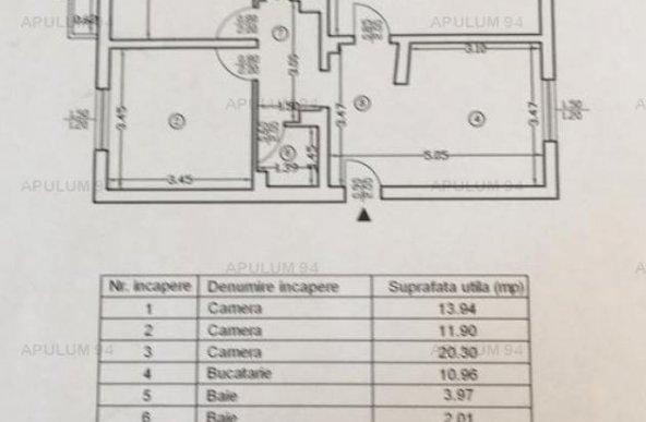 3 camere Nerva Traian- adiacent.