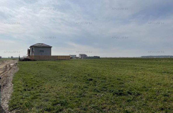 Domnesti, Teghes, teren in suprafata de 1100 mp, 22ml deschidere