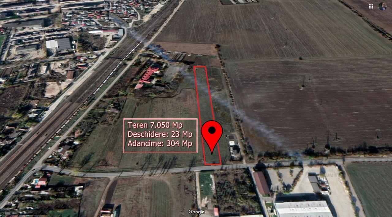 Vanzare Teren Constructii ,zona Buftea ,strada Unirii ,nr 1 ,483.000 €
