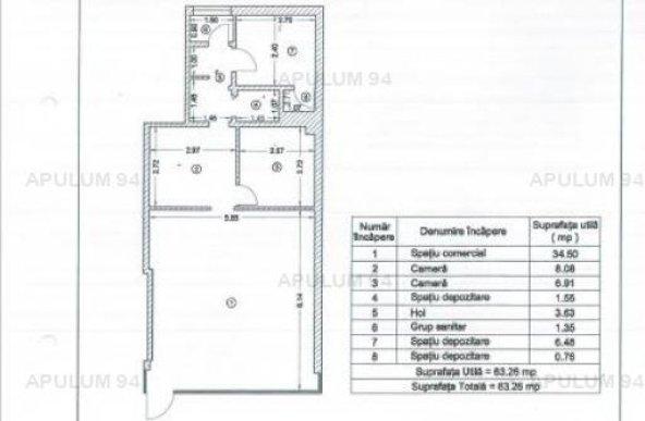 Vanzare Spatiu Comercial 3 camere ,zona Piata Veteranilor ,strada Iuliu Maniu ,nr - ,200.000 €