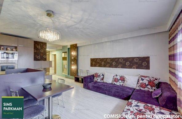 Apartament 3 camere mobilat – utilat la cheie Unirii