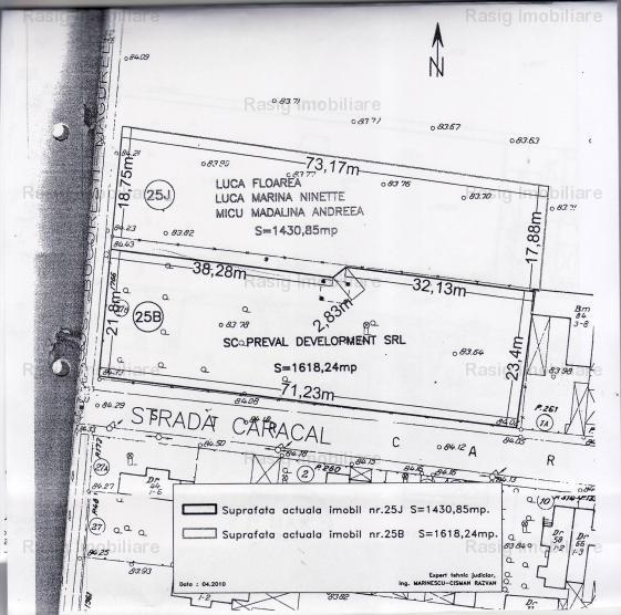 Vanzare teren constructii 1618mp, Alexandriei, Bucuresti