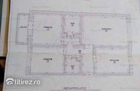 3 camere zona Baneasa