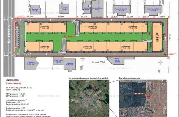 Vanzare teren constructii cu autorizatie , Pipera
