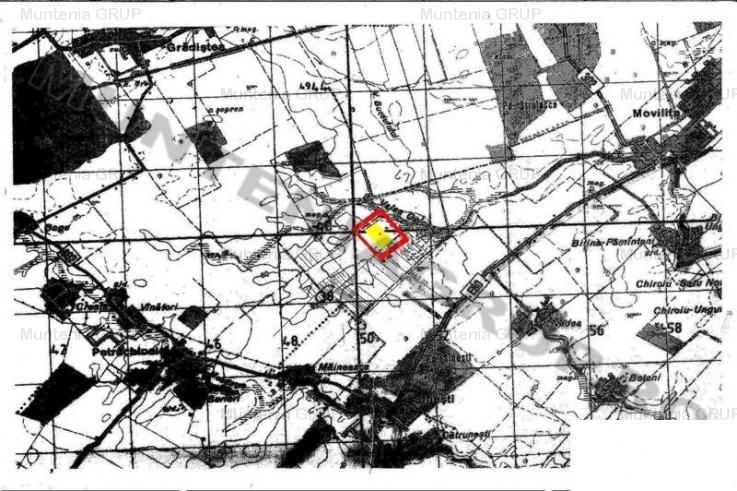 PETRACHIOAIA - Popas Sinesti, vanzare 18,3 Ha. teren agricol (1,3 Eur/mp.)