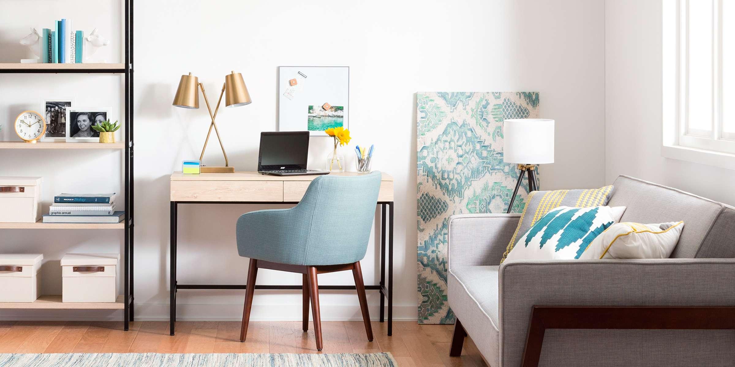 Coltul de design: cum sa amenajezi un birou acasa, daca spatiul este insuficient