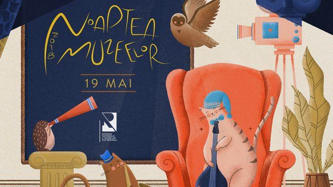 Noaptea Muzeelor 2018 - ghidul complet al evenimentelor din 19 Mai!