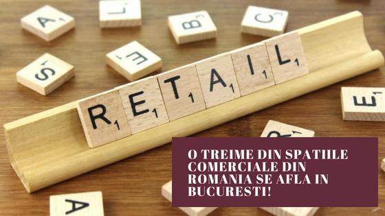 O treime din spatiile comerciale din Romania se afla in Bucuresti!